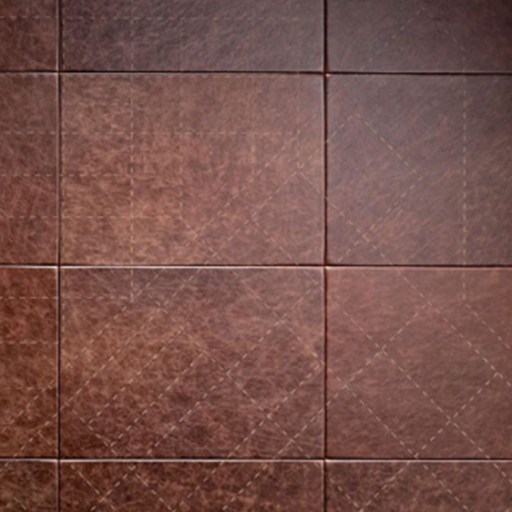 Leather panels which are apart of Metal Panels NYCs panel products