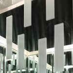 Glass mirror panelings are apart of Metal Panels NYCs panel products