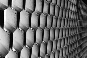 An example of Mesh metal panels from Metal Panels NYC
